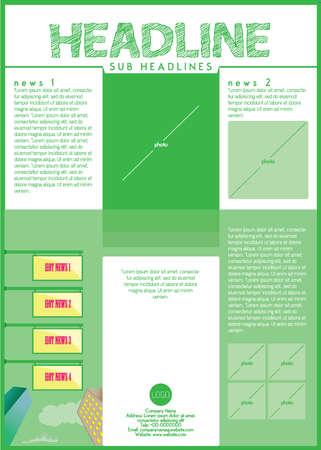 one sheet: symmetric flyer design template one sheet