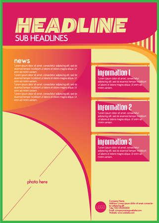 one sheet: asymmetric flyer design template one sheet