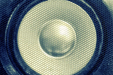 decibel: Close Up Speaker with grille