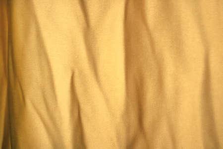 Yellow bumpy curtain texture Stock Photo