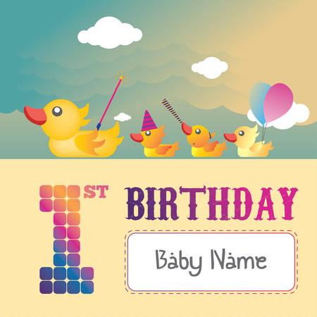 Birthday 1st