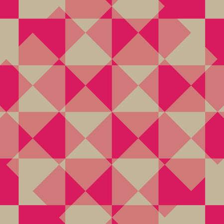 Abstract Pink Square Diagonal Illustration