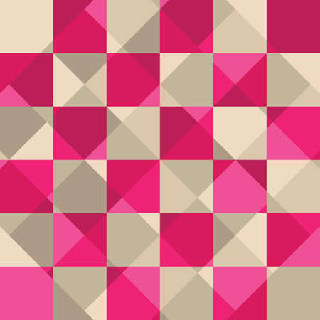 Abstract Pink Square