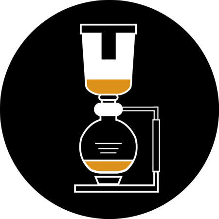 coffee machine flat icon