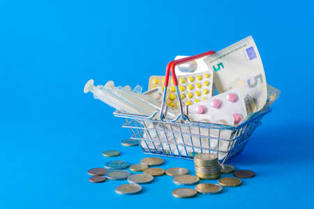 The concept of inflation in medicine. Medicine and money in the market basket. The increase in prices for medicines.