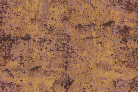 Old worn metal surface with paint. Rusty metal texture. Background. Metal. Wall. Seamless texture