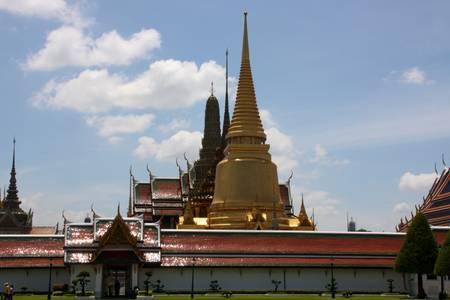 kaew: Thailandia Wat Phra Kaew Stock Photo