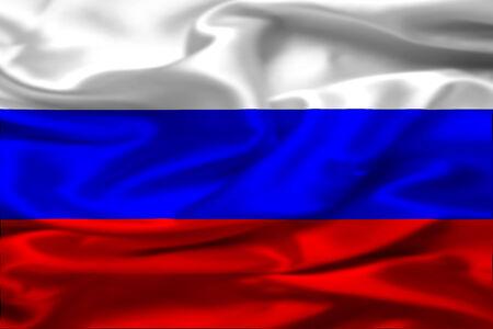 russia flag: Russia flag Stock Photo