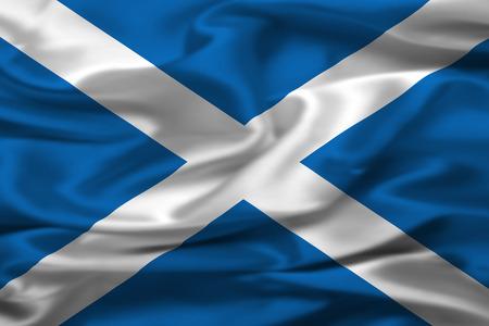 scottish flag: Bandiera scozzese