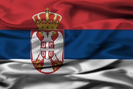 serbian: Serbian flag