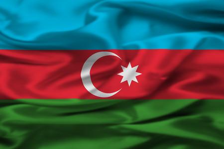 Azerbaijan flag Фото со стока - 70817724
