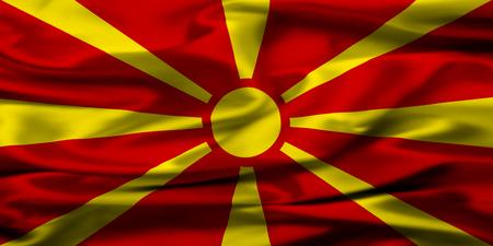 macedonian flag: Macedonian flag