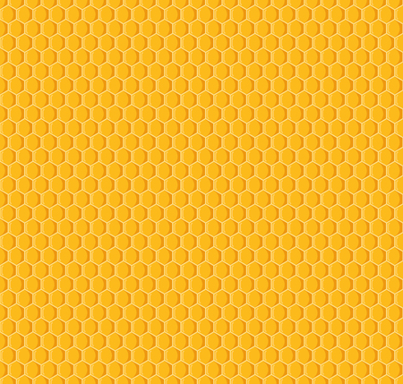 Vector of honeycomb seamless pattern background Illustration