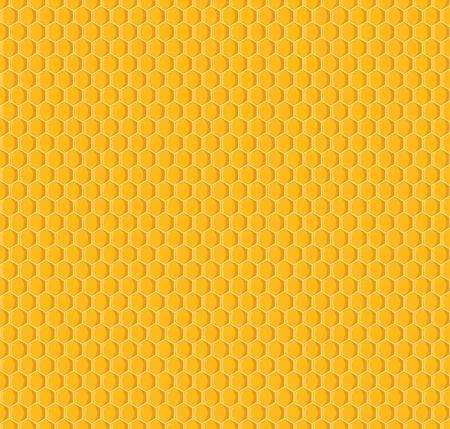 Vector of honeycomb seamless pattern background Ilustração