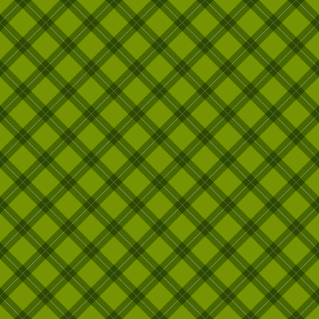 Seamless pattern vintage retro style on green background
