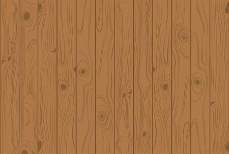 Wooden texture light brown colors background - Vector illustration
