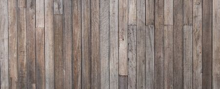 Close up empty wooden wall grunge texture background for exterior decoration.