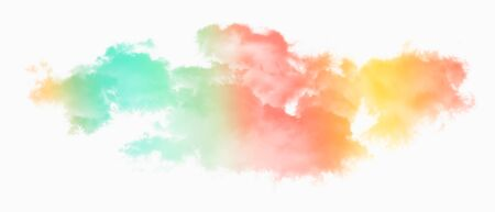Abstract image of Clouds in pastel gradient color background.