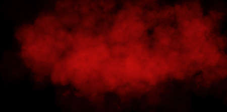 Abstract image of Red smoke or fog in black background. 版權商用圖片