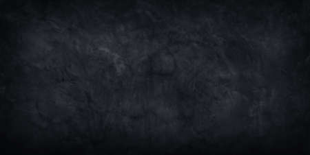 Abstract black concrete wall grunge texture background.