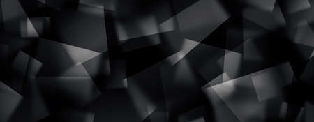 Abstract image of Polygonal space design background.