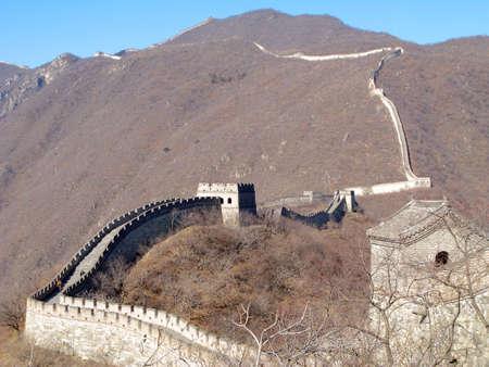 Great Wall of China near Beijing, China. Stock Photo - 3293468