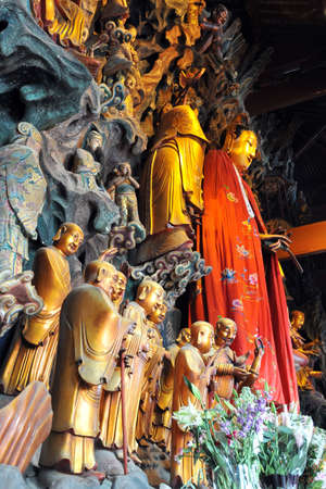 jade buddha temple: The Jade Buddha Temple in Shanghai, China.
