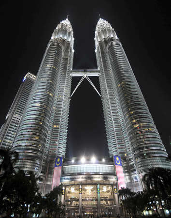 postmodern: The Petronas Towers in Kuala Lumpur, Malaysia were the tallest buildings in the world from 1998 to 2004.