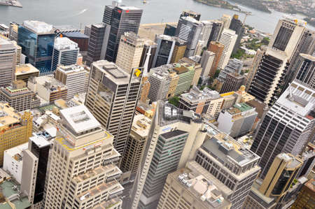 Downtown Sydney, Australia from Sydney Tower  photo