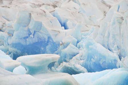 los glaciares: Close up vista del ghiacciaio Viedma nel Parco Nazionale Los Glaciares in Argentina