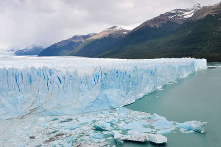 argentinean: The Perito Moreno Glacier located in the Los Glaciares National Park in southwest Santa Cruz province, Argentina
