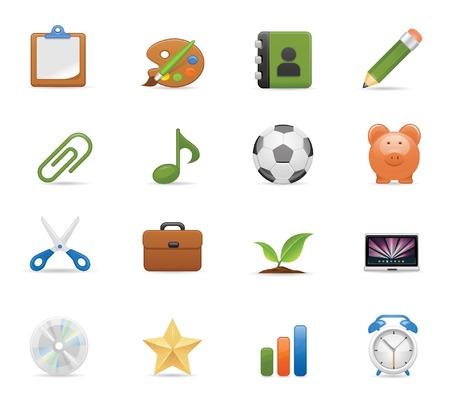 Eduacation icons set