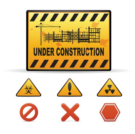back lit: Under Construction