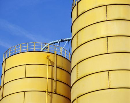 non cultivated: water tank in water land