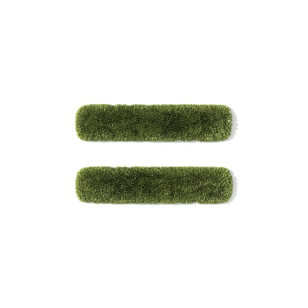 grass font - equal sign