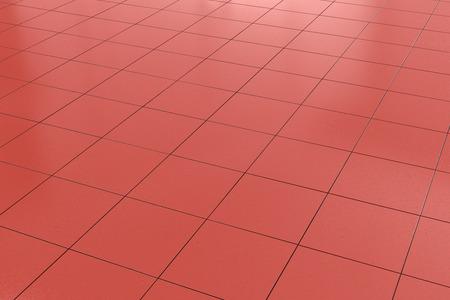 tiled floor: red tiled floor background