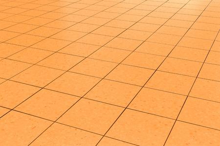 tiled floor: orange tiled floor background