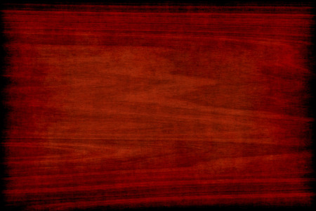 cereza: Fondo de la textura de madera del grunge con la tarjeta quemada Foto de archivo