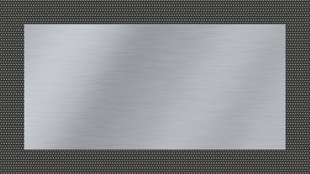 silver metal: metal texture background with brushed steel and dark metal woven
