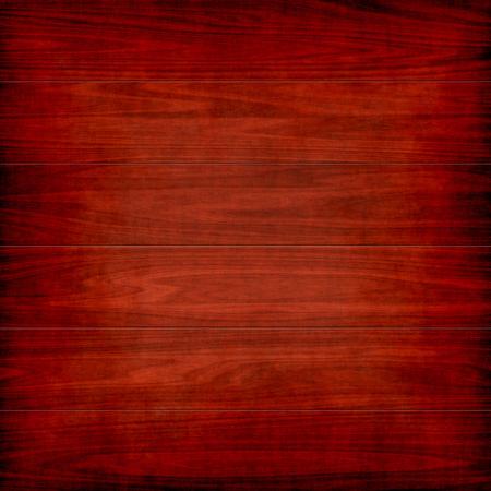 rojo: fondo del grunge tablones de madera con la tarjeta oscura