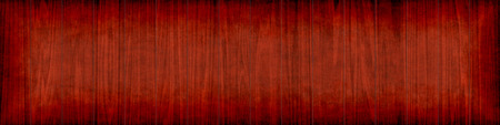 grunge banner: background of grunge wooden planks with dark board Stock Photo