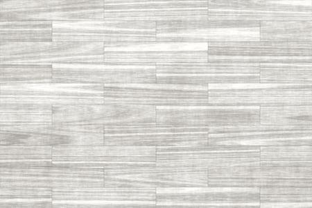 白い木の床、寄木細工の床の背景テクスチャ 写真素材