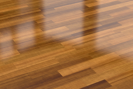 wood floor: Close-up view of dark wood parquet floor, background