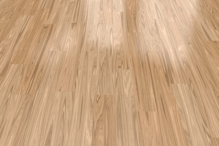 closeup view: Background with light wood parquet floor, close-up view
