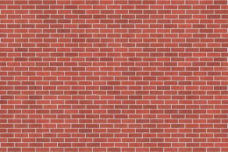 본드를 실행하는 붉은 벽돌 벽의 배경 질감
