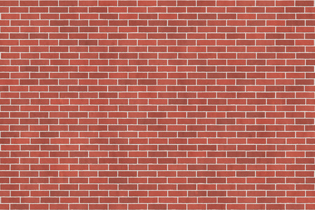 Background texture of red brick wall, running bond