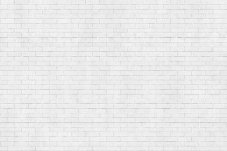 Achtergrond textuur van witte bakstenen muur, halfsteensverband Stockfoto - 68624765