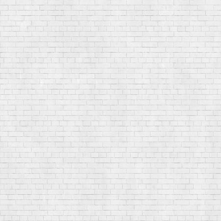 Achtergrond textuur van witte bakstenen muur, gemeenschappelijke band