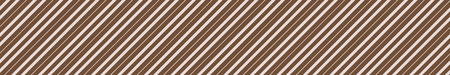 Background with brown diagonal stripes, trendy style pattern banner