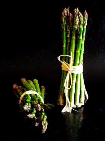 bundled: Bundled asparagus